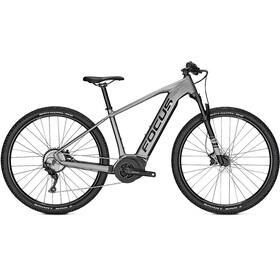 FOCUS Jarifa² 6.7 Elcykel MTB Hardtail 29 grå